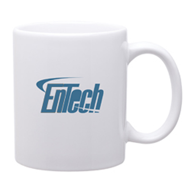 11 oz C-Handle Mug - Glossy White