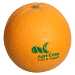 17926 - Orange Fruit Shape Stress Reliever