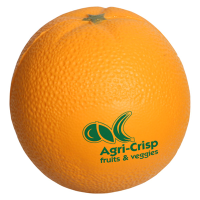orange fruit shape stress reliever