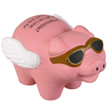 17934 - Flying Pig Stress Reliever