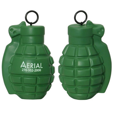 Vibrating Grenade Stress Reliever