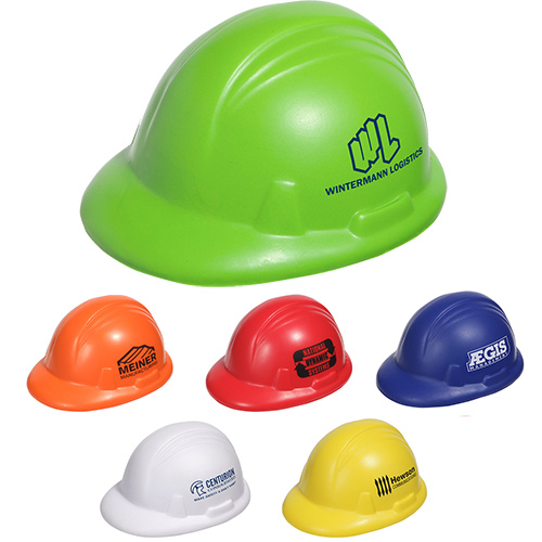 hard hat stress reliever