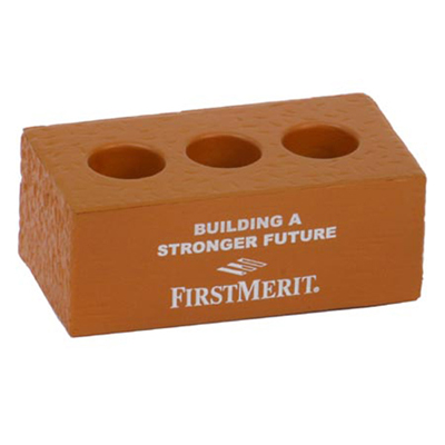 brick with holes stress reliever
