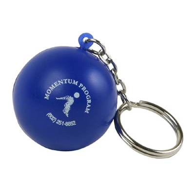 Key Chain Ball Stress Reliever
