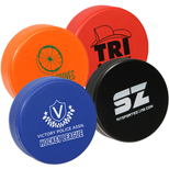 17993 - Hockey Puck Stress Reliever