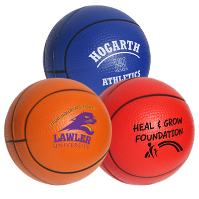 Basket -Ball Stress Reliever