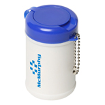 18019 - Travel Well Sanitizer Wipes Key Chain