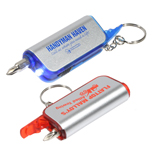 18023 - Screwdriver Flashlight Key Chain