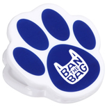 Promotional Pet Paw Power Clip-Imprinted Power Clip