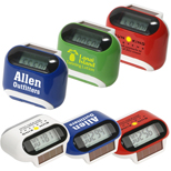 Promotional Solar Pedometer, Solar Powered Pedometer