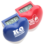 Healthy Heart Step Pedometer, Promotional LCD Display Pedometer