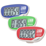 Easy Read Large Screen Pedometer-Logo Pedometer
