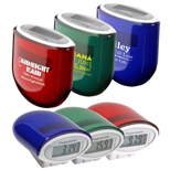 Cosmic Solar Pedometer, Eco-Friendly Promotional Pedometers