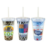 18093 - 16oz. Freedom Design Tumbler