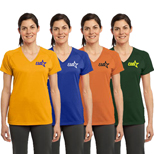 Sport-Tek-Ladies Ultimate Performance V-Neck