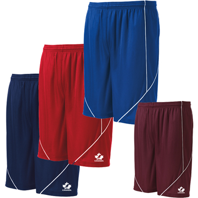 Reversible Spliced Shorts