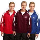 Personalized Sport Tek Colorblock Jacket