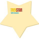 18124 - Bic® Adhesive Die Cut Notepads (Star)