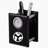Promotional Metropolitan Pencil Cup Clock, Custom Clocks Gifts