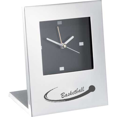 Radiance Silver Plated Clock