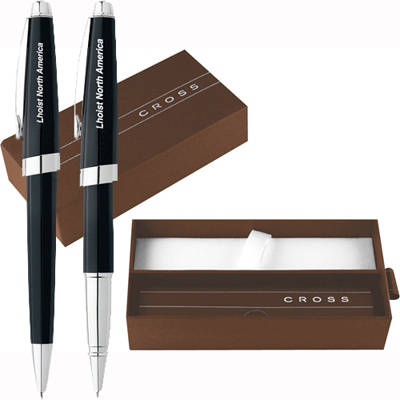 Cross Aventura Onyx Black Pen Set