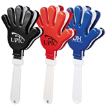 Personalized School Spirit Items - Promotional Hand Clapper, Personalized School Items