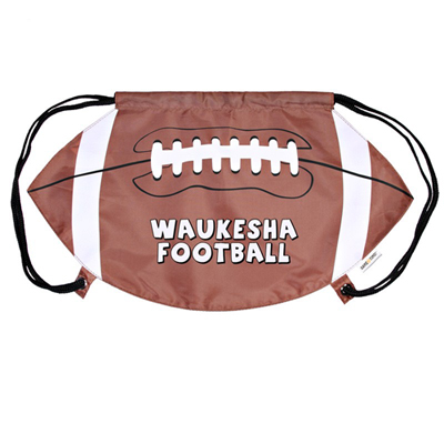 Football Drawstring Back Pack