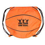 18312 - GameTime! Basketball Drawstring Backpack