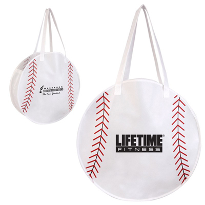 Promotional Baseball Tote Bag