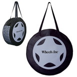 Tire Tote Bag - Custom Tire-Shaped Rally Tote