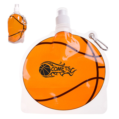 24 oz. Basketball Collapsible Bottle