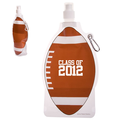 16 oz. Football Collapsible Bottle