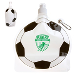 18325 - 24 oz. Soccer Ball Collapsible Bottle