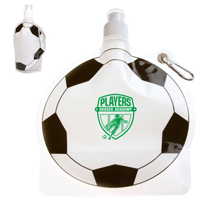 24 oz. Soccer Ball Collapsible Bottle