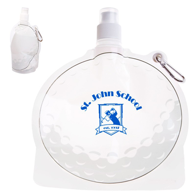 24 oz. golf ball collapsible bottle