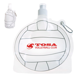18328 - 24 oz. Volleyball Collapsible Bottle
