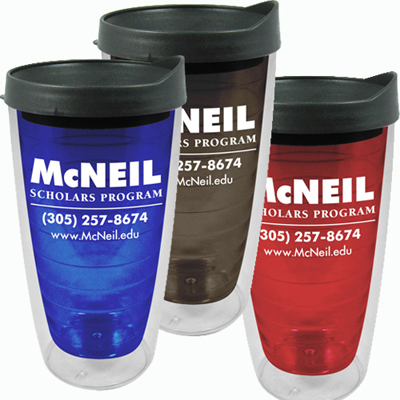 Personalized Polar Double Insulated Tumbler