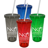 24 oz. Carnival Single Wall Acrylic Tumbler
