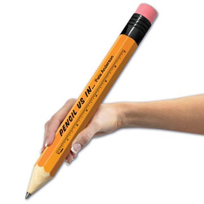 Giant Promotional Pencil