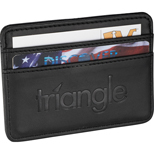 Personalized Credit Card Wallet - Imprinted Business Card Wallet