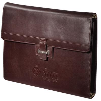 cutter & buck® amer classic tri-fold padfolio