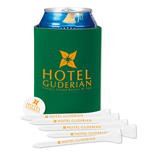 18485 - Collapsible KOOZIE® Golf Tee Kit