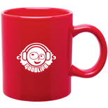 18513 - 20 oz Red C-Handle Mug