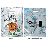 18550 - Silver Reflective Halloween Pumpkin Bag