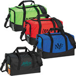 Logo Polyester Duffel Bag - Customized Polyester Duffel Bag