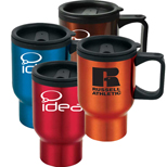 Custom Metal Travel Mugs - Promotional Metal Mugs