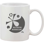 18574 - Bounty Ceramic Mug - White