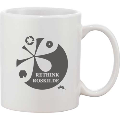 Bounty Ceramic Mug - White