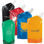 18587 - Cabo 20-Oz. Water Bag With Carabiner