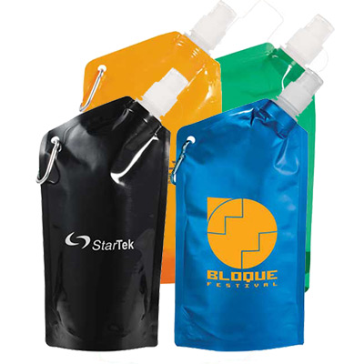 Cabo 20 oz. Water Bag With Carabiner